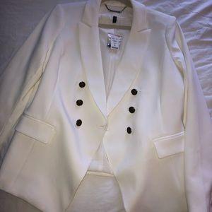 White black NWT jacket
